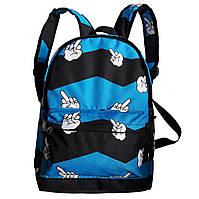 Рюкзак городской спортивный синий, фото 1