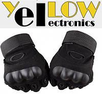 Беспалые Велоперчатки Oakley с защитой косточки, Три размера