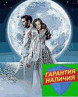 Картина по номерам Под лунным сиянием KHO4552 40*50см Идейка Раскраска по цифрам