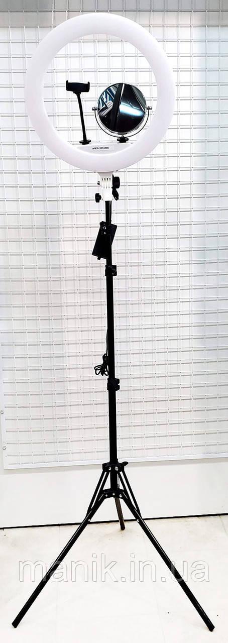 Кольцевая лампа 45см, 65Вт с штативом KY-BK416, 65 Вт