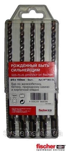 Fischer SDS-Plus Driller - Ударное сверло (бур) для перфоратора