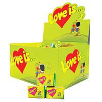 """Жвачка """"Love is..."""" яблоко-лимон, 100шт."""