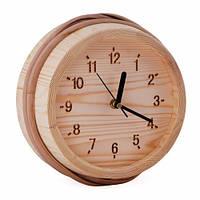 Часы настенные для предбаника 530-Р Сосна