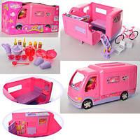 Мебель для кукол 2022  дом на колесах 51см, Bambi