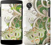 """Чехол на LG Nexus 5 Узор v9 """"1843c-57"""""""