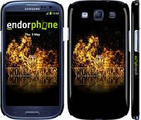 "Чехол на Samsung Galaxy S3 Duos I9300i World of tanks. Logo ""635c-50"""