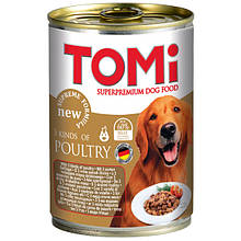Консерви для собак 3 виду птиці Томі TOMi 3 kinds of poultry 400 г