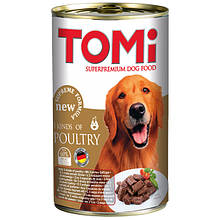 Консервы для собак 3 вида птицы Томи TOMi 3 kinds of poultry 1,2 кг