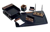 Набор настольный канцелярский подарочный 7 предметов W7AQ-1A