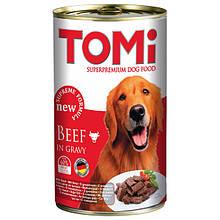 Консервы для собак с говядиной Томи TOMi Beef 1,2 кг