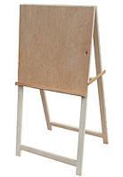 Мольберт хлопушка № Х1 (h мольб. 118см, размер полотна 58*60см) сосна