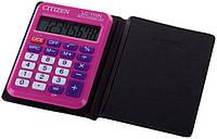 Калькулятор Citizen карманный LC-110NRPK розовый 87х58мм, 8 разрядов