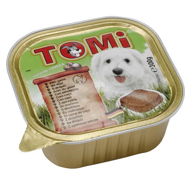 Паштет для собак с дичью Томи TOMi game 300 г