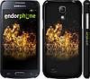 "Чехол на Samsung Galaxy S4 mini Duos GT i9192 World of tanks. Logo ""635c-63"""