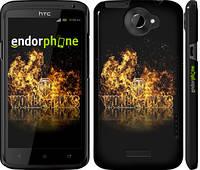 "Чехол на HTC One X World of tanks. Logo ""635c-42"""