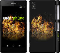 "Чехол на Sony Xperia Z2 D6502/D6503 World of tanks. Logo ""635c-43"""