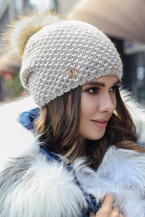 Зимняя женская шапка «Кларк»