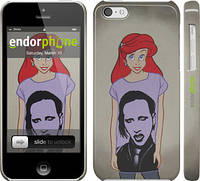 "Чехол на iPhone 5c Marilyn Manson ""815c-23"""