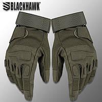 """Перчатки полнопалые """"Blackhawk!. Solag"""" (олива). тактические перчатки, боевые, штурмовые, нацгвардии"""