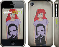 "Чехол на iPhone 3Gs Marilyn Manson ""815c-34"""
