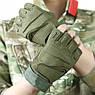 """Перчатки беспалые """"Blackhawk!. Oaklai"""" (олива). тактические перчатки, боевые, штурмовые, нацгвардии, фото 5"""