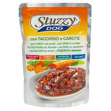 Вологий корм для собак з індичкою і морквою в соусі Штузи Stuzzy Dog Turkey Carrot 100 г