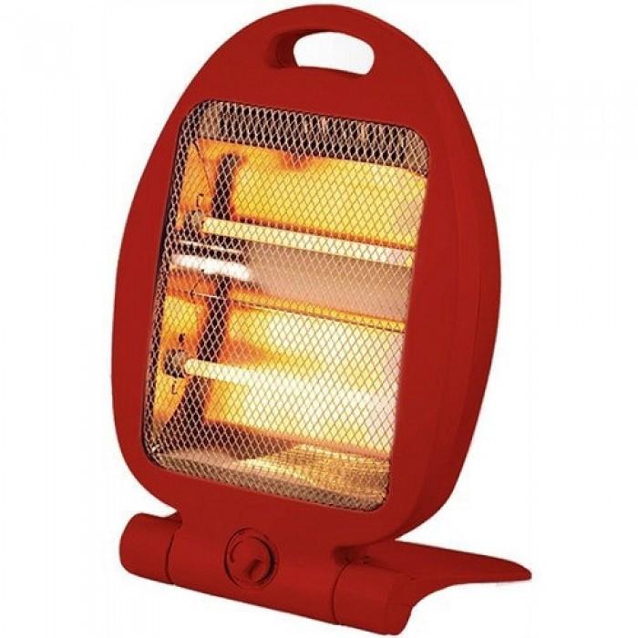 Обогреватель кварцевый инфракрасный Domotec MS 5952 2 режима 800 Вт Красный