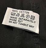 Рубашка чёрная с вышивкой Batistini (S/38), фото 6