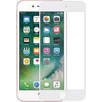 """Защитное стекло 3D 9H (full glue) (без упаковки) для Apple iPhone 7 / 8 (4.7""""), цвет Белый"""