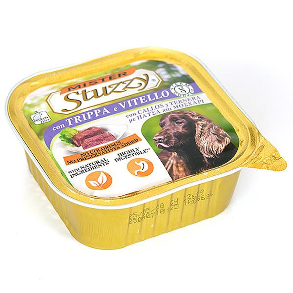 Паштет для собак с рубцом и телятиной Штузи Mister Stuzzy Dog Tripe Calf 300 г
