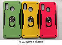 Ударопрочный чехол SG Ring Color магнитный держатель для Xiaomi Redmi 7A, цвет Салатовый