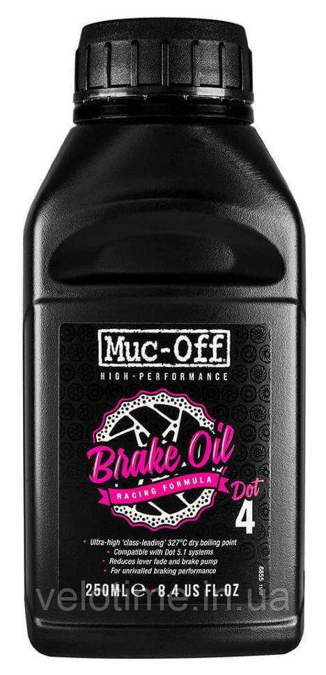 Тормозная жидкость Muc-Off Dot4 250ml (черный)