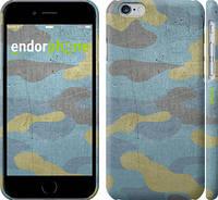 """Чехол на iPhone 6 Металлический камуфляж """"1227c-45"""""""