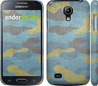 "Чехол на Samsung Galaxy S4 mini Металлический камуфляж ""1227c-32"""