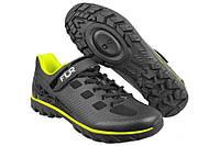 Велосипедные туфли фитнес FLR Rexston  (44р., черный-желтый)