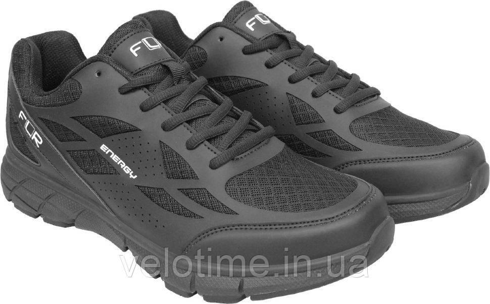Велосипедные туфли фитнес FLR Energy  (36р.,черный)
