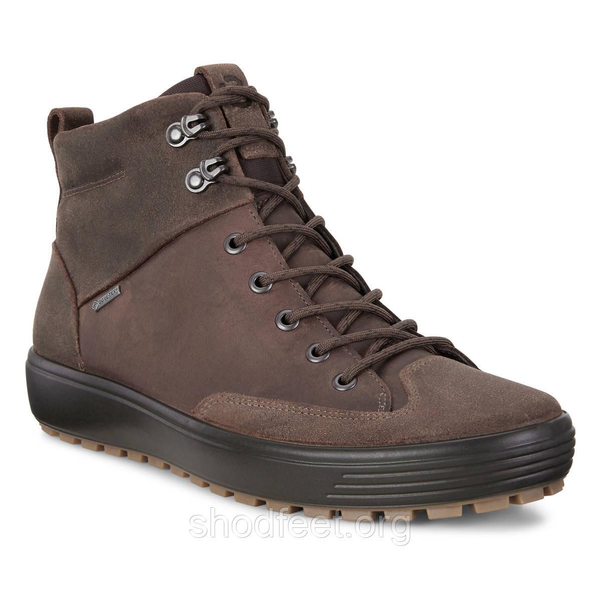 Мужские ботинки Ecco Soft 7 Tred Gore-Tex 450114-55778
