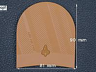 Набойка резиновая XA001 CITY MICHELIN (Франция), р.39-41, цв. тропик (caramel)