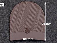 Набойка резиновая XA003 MODERN MICHELIN (Франция), р.42-44, цв. темно-коричневый