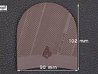 Набойка резиновая XA003 MODERN MICHELIN (Франция), р.45-47, цв. темно-коричневый