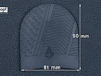 Набойка резиновая XA005 RAIN MICHELIN (Франция), р.39-41, цв. черный