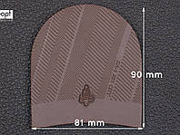Набойка резиновая XA005 RAIN MICHELIN (Франция), р.39-41, цв. темно-коричневый