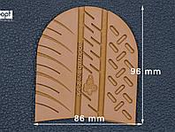 Набойка резиновая XA007 OUTDOOR MICHELIN (Франция), р.42-44, цв. тропик (caramel)
