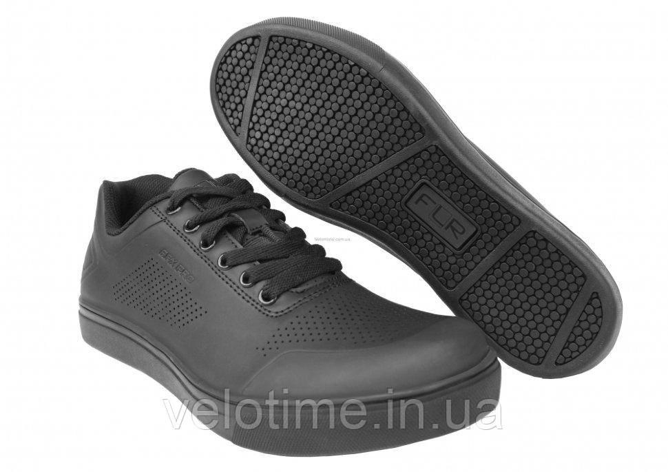Велосипедные туфли фитнес FLR AFX Pro  (44р., черный)
