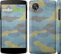 """Чехол на LG Nexus 5 Металлический камуфляж """"1227c-57"""""""