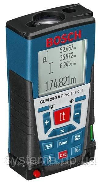 BOSCH GLM 250 VF Professional - Лазерный дальномер (лазерная рулетка)
