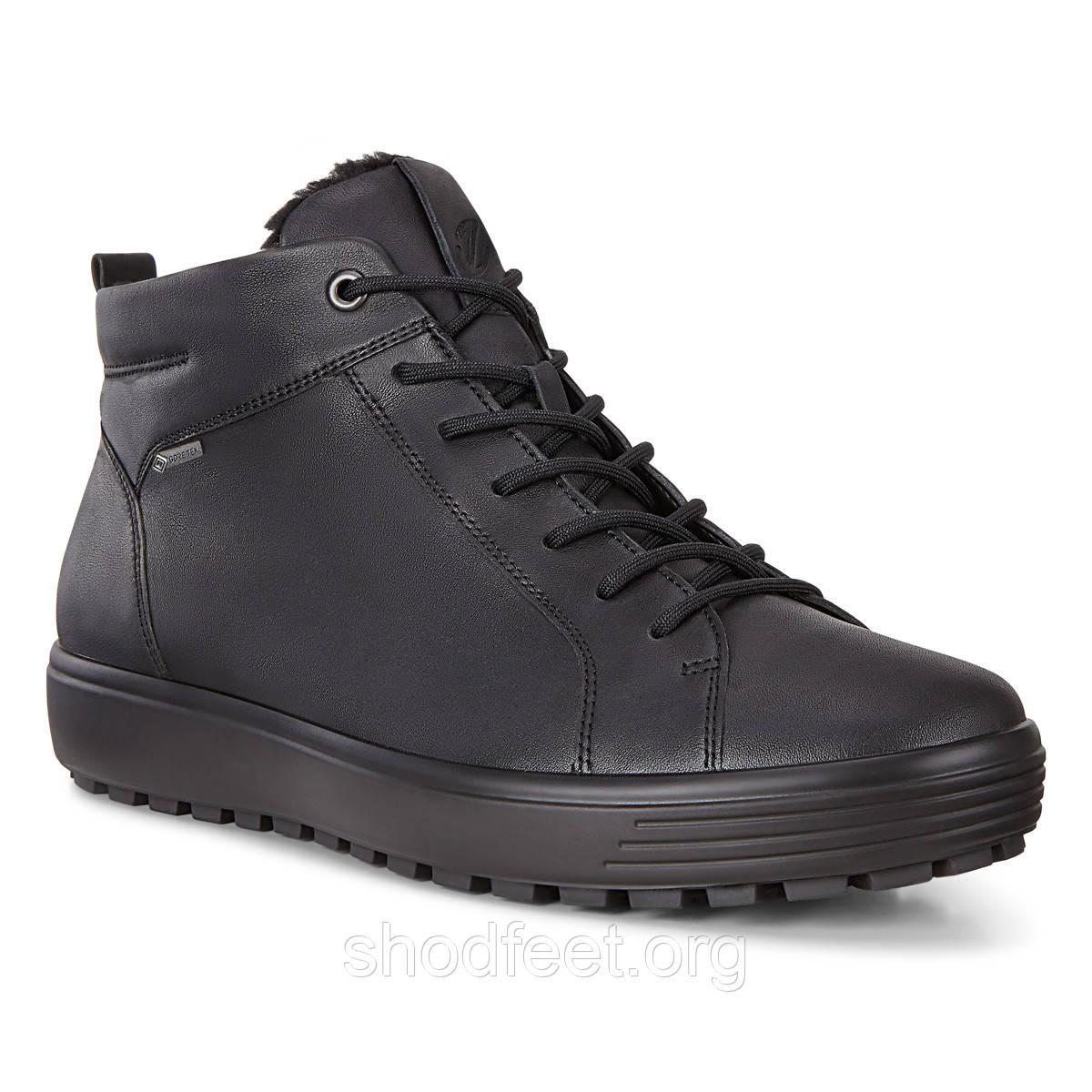Мужские ботинки Ecco Soft 7 Tred Gore-Tex 450304-01001