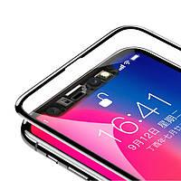 """Защитное стекло Baseus 3D Arc 0.2mm (SGAPIPH61) для Apple iPhone XR (6.1""""), цвет Черное"""