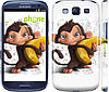 "Чехол на Samsung Galaxy S3 i9300 Мартышка с бананом ""1245c-11"""