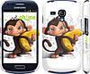 "Чехол на Samsung Galaxy S3 mini Мартышка с бананом ""1245c-31"""